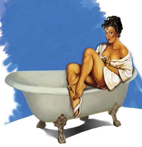 En el baño - Página 4 Pinup-bagno